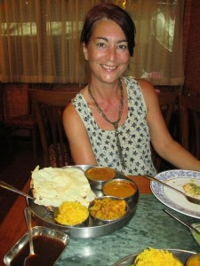 Vegetarian Thali, Royal India Restaurant, Phahurat, Bangkok